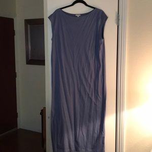 Gap Blue Maxi Dress - Large